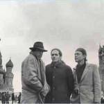 Powder Blues, 1990, tour of Soviet Union, Red square